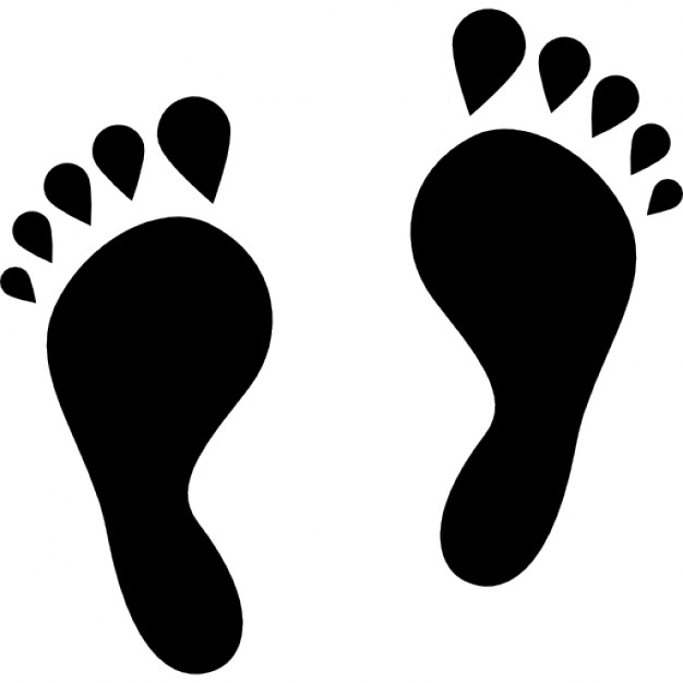 human-footprints-shape_318-38383